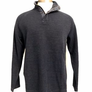 Gap Blue Mock Neck Pullover Sweater A040120